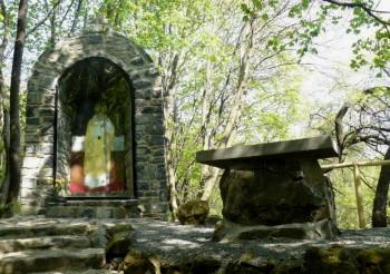 Badacsony látnivalók: II. János Pál Pápa Emlékhely